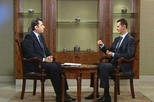 Bachar el-Assad se félicite de l'«auto-nettoyage» en Syrie