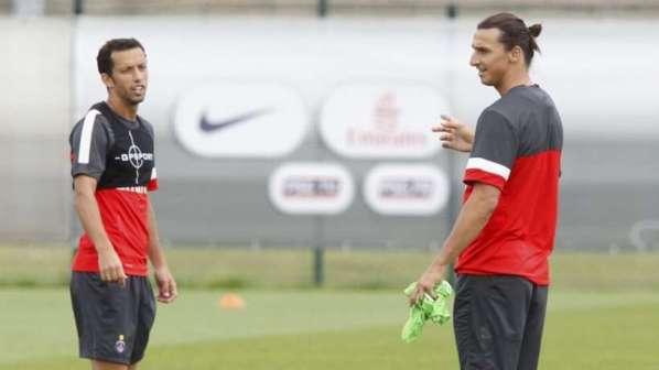 PSG : altercation Ibrahimovic-Nenê à l'entraînement !