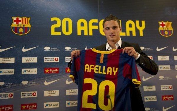 Officiel : Afellay a choisi l'Allemagne !