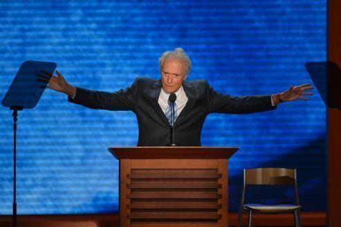 Le discours de Clint Eastwood suscite les moqueries