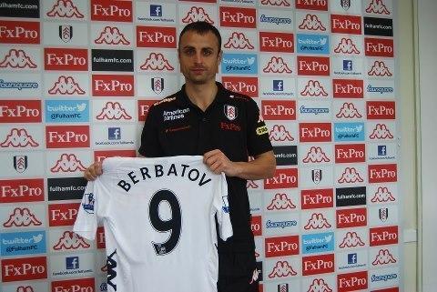 Officiel : MU confirme le transfert de Berbatov !