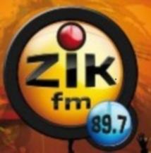 Journal 08H du Samedi 01 Septembre 2012  (Zik FM)