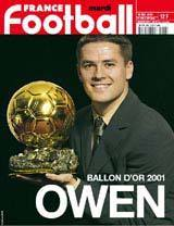 Michael Owen, Ballon d'Or cherche club...