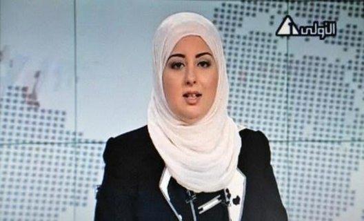 EGYPTE: une journaliste voilée présente le journal télévisé
