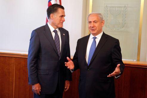 Nétanyahou applaudit Romney à tout rompre