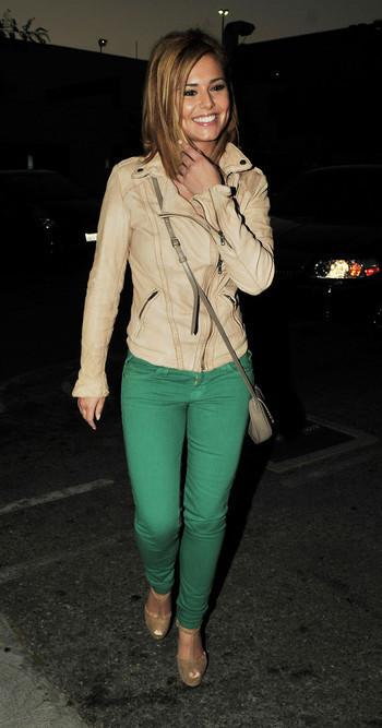 Cheryl Cole infatigable
