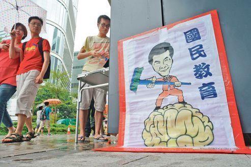Le patriotisme chinois ne passe pas à Hongkong