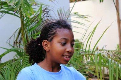 Zeyna, la fille de Viviane, choquée