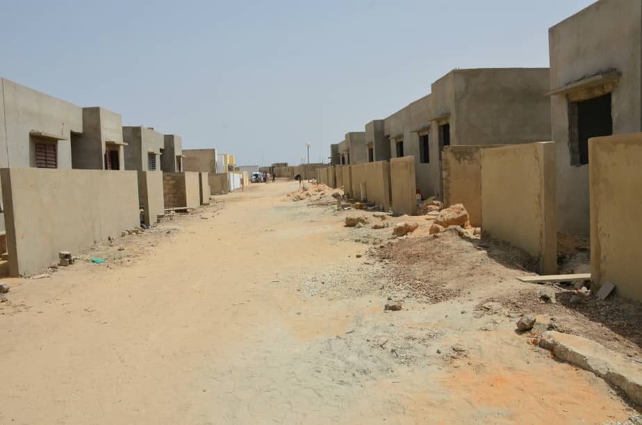 URBANISME: Abdou Karim Fofana visite des logements sociaux de Thiès(Photos)