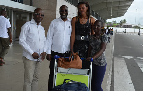 N'deye Sène et Ramata Daou recrues du CSA sont à Abidjan