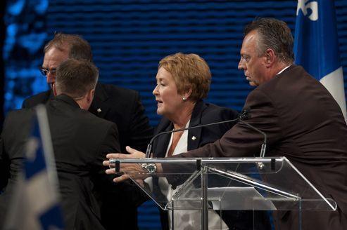 Attentat contre le futur premier ministre québécois