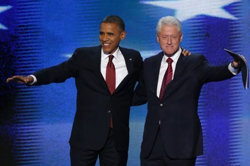 Bill Clinton met son talent d'orateur au service d'Obama