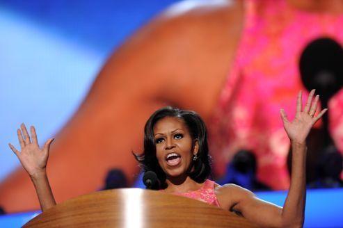 Michelle Obama enflamme les démocrates à Charlotte