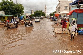 Touba : le conseil rural offre des vivres aux sinistrés de la ville