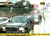 Les 15 minutes de calvaire de Macky Sall devant le tunnel de Karim Wade