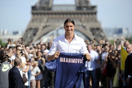 PSG : Ibrahimovic refuse toute comparaison avec Cristiano Ronaldo