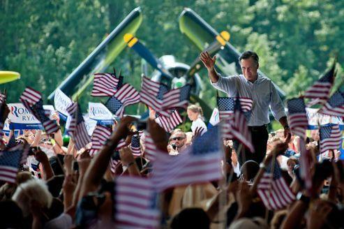 Mitt Romney invite Dieu dans sa campagne