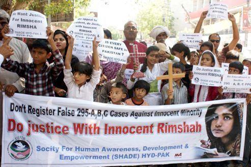 Au Pakistan, Rimsha libérée sous caution