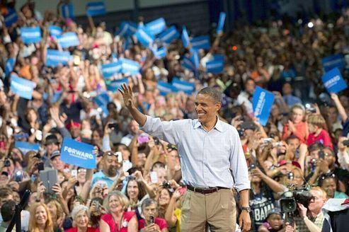 «L'effet convention» profite à plein à Barack Obama