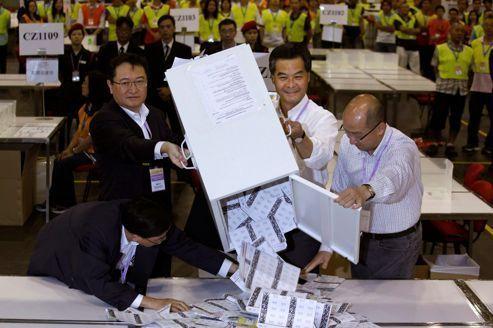 Pékin garde la main sur Hongkong lors des législatives