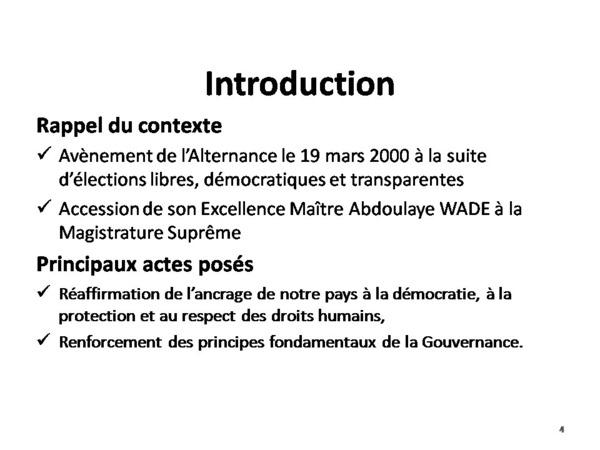 Samuel Sarr fait le bilan de l'Alternance et réaffirme son soutien à Wade (Documents)