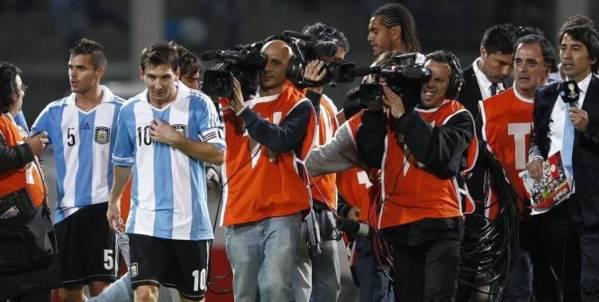 Elim. CM 2014 : le bus argentin pris pour cible au Pérou