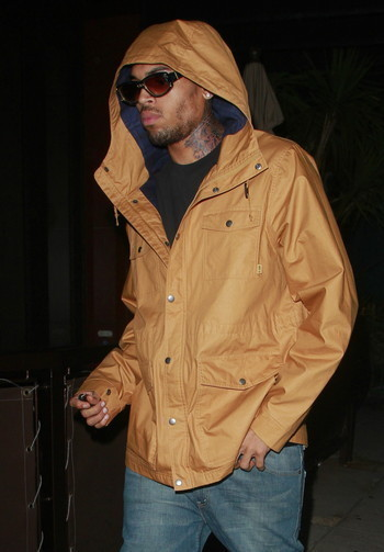 Chris Brown rencontre des victimes de violences domestiques