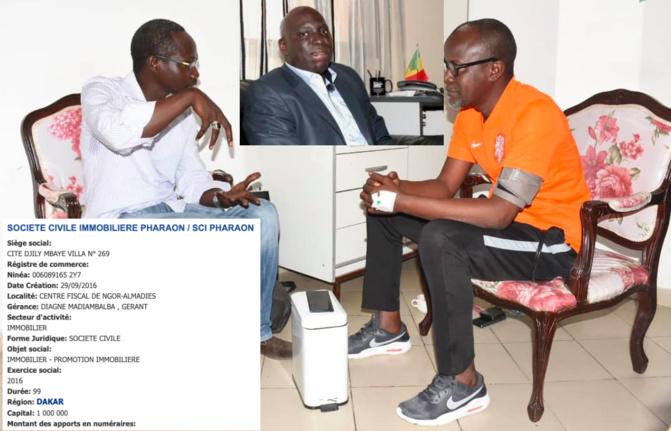 De son lit d'hôpital, Yakham Codou Ndendé Mbaye pulvérise Madiambal Diagne : «Entre Niaga, Bambilor, Toubab Dialaw, Ouakam, Ngor, Alamadies, il est assis sur 59 000 mètres carrés de terres»
