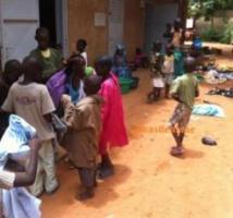 Des moniteurs et encadreurs à l'œuvre pour 1000 enfants sinistrés