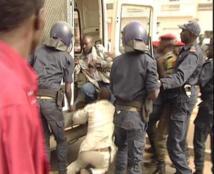 Guédiawaye : 80 personnes arrêtées par la Bip et le Gmi