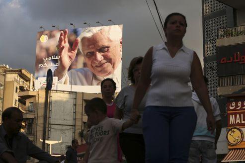 Le voyage à haut risque de Benoît XVI à Beyrouth