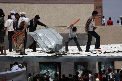 L'ambassade américaine au Yémen prise pour cible