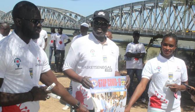 Conflit avec la Fédération de Basket: Les sportifs saint-louisiens font bloc derrière Baba Tandian