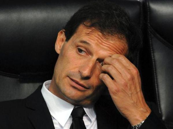 Milan AC : Allegri n'est pas menacé... pour l'instant