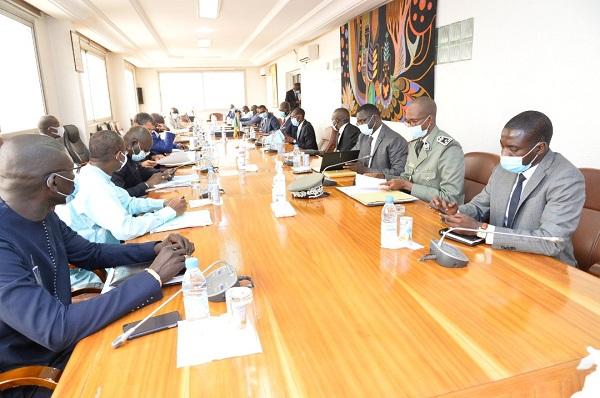 Rencontre Ministre des Finances et Budget et le CNP: les points saillants de l'état d'exécution financière PRES