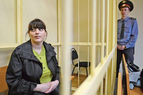 Une opposante à Poutine dénonce un «procès politique»