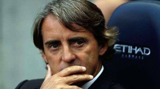 Man City : Mancini affiche sa déception et tacle Joe Hart