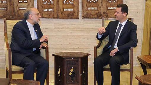 Le ministre iranien des affaires étrangères rencontre Assad
