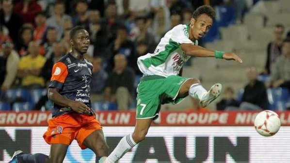 Aubameyang et l'ASSE tiennent Montpellier en échec !