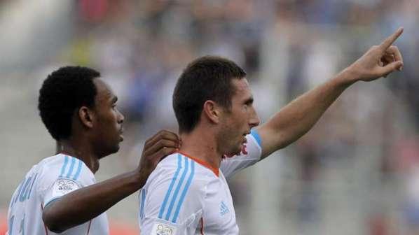 Amalfitano et l'OM dominent Evian et confirment leur départ canon !