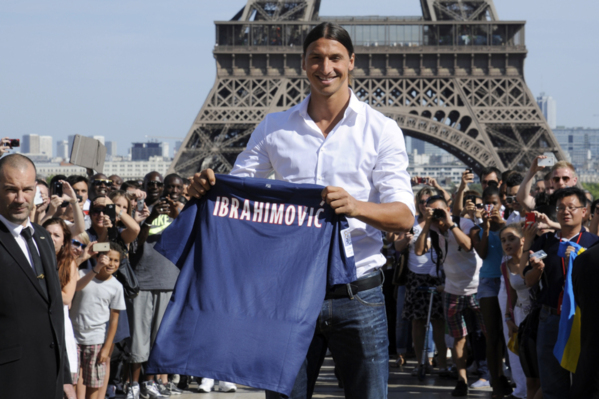 OM : Ibrahimovic, l'idole de J.Ayew !