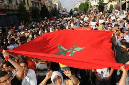 Eclipse lunaire totale du salafisme au Maroc.