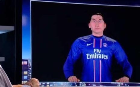 PSG : Ibrahimovic fan de son guignol !