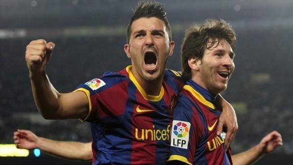 Barça : Rosell éteint l'incendie entre Villa et Messi