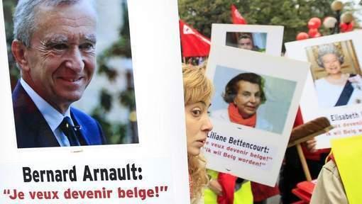 Véritable exode de riches français à Bruxelles