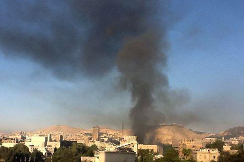 Syrie : l'état-major théâtre d'attentats et de combats