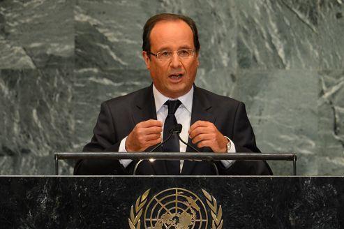 Hollande exhorte l'ONU à «agir vite»