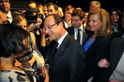 François Hollande «se produit» à Broadway