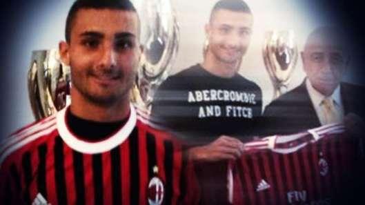 Recalé par l'OM, Johad Ferretti veut se faire un nom au Milan AC
