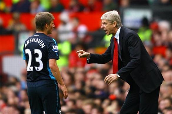 Arsenal : Wenger félicite Arshavin